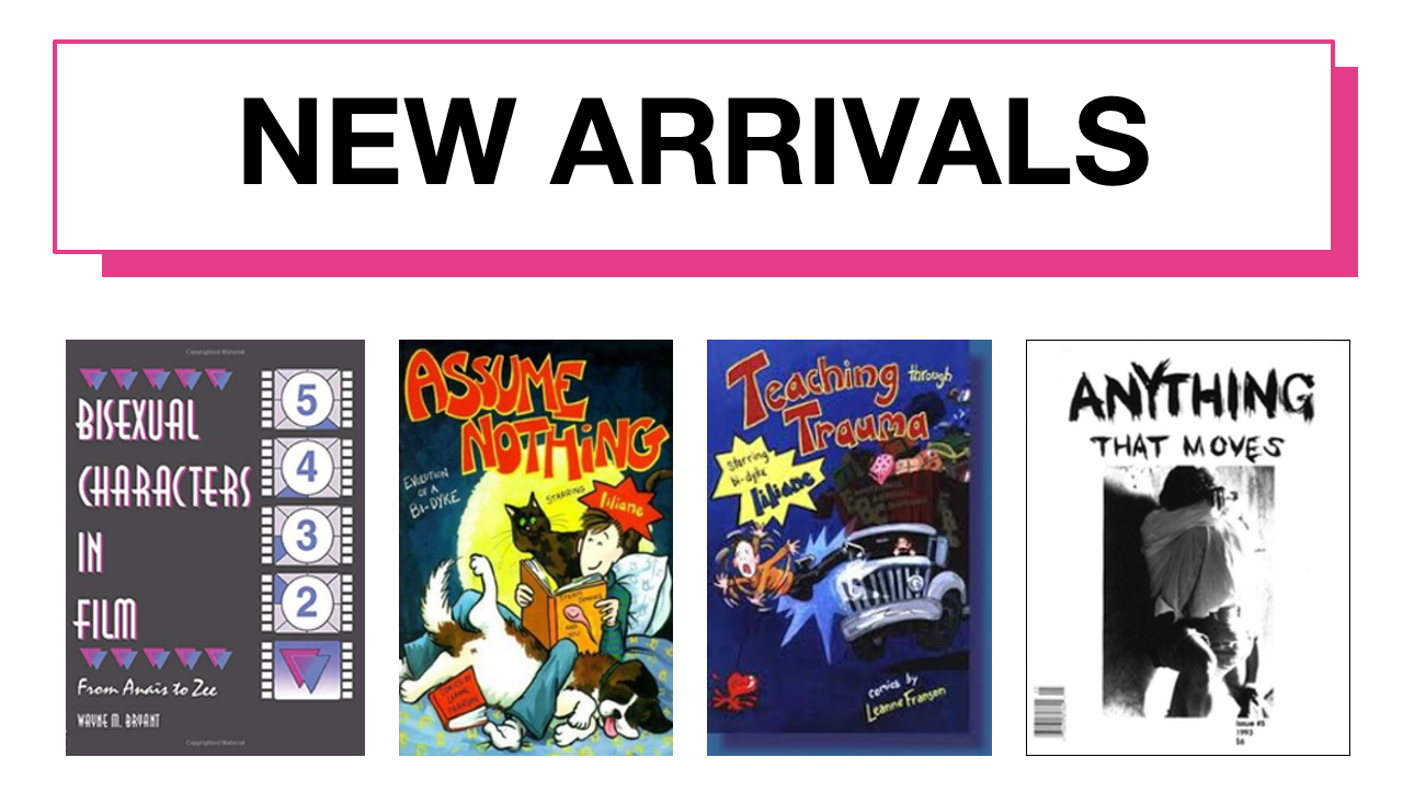 New arrivals at the Bi Pan Library – September 2020